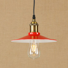 Modern LED iron pendant lamp vintage industry hanging light Loft style bar/restaurant living room bedroom lighting fixture 220v