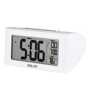 Image 4 - BALDR Digitale Dutje Timer Wekker Snelle Instelling LCD Temperatuur Display Desktop Tafel Klokken Witte Achtergrondverlichting Thermometer