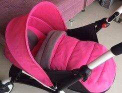 0 ~ 6 mois panier de couchage pour bébé poussette (besoin d'acheter avec poussette ensemble) 6 couleurs en stock panier de couchage nid de bébé - 5