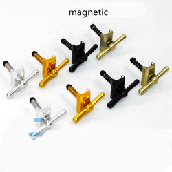 1 para składana rama roweru zestaw słuchawkowy klucz składany C klamra zawias klip dla brompton rowerowy zacisk zawiasu assmbly magnetyczne w Narzędzia do naprawy roweru od Sport i rozrywka na