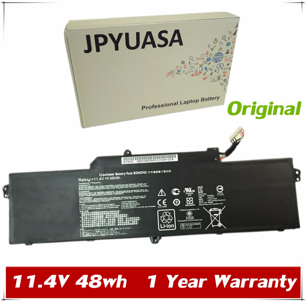 JPYUASA 11.4V 48Wh Original B31N1342 Laptop Battery For