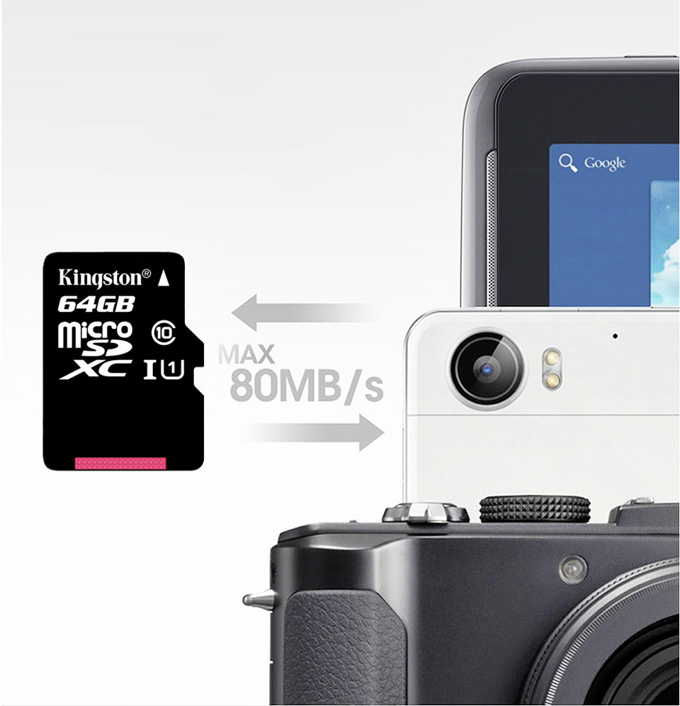 Kingston Micro SD Memory Card 32GB 16GB 64GB Class10 Mini SD Card Class4 8GB 16GB With TF Card Reader For Android SmartPhone 4