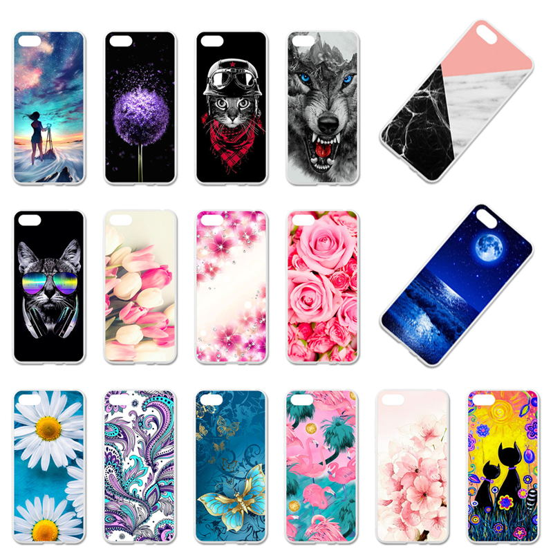 <font><b>Case</b></font> For Huawei Y5 2018 <font><b>Honor</b></font> <font><b>7S</b></font> TPU Cover Etui Y5 Prime 2018 <font><b>Honor</b></font> 7A Russian Play 7 <font><b>DUA</b></font>-<font><b>L22</b></font> Silicone Anime 5.45 inch image