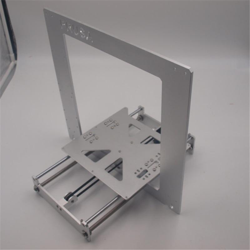Обновление Prusa i3 кадров Комплект анодированного алюминиевого сплава серебристого цвета