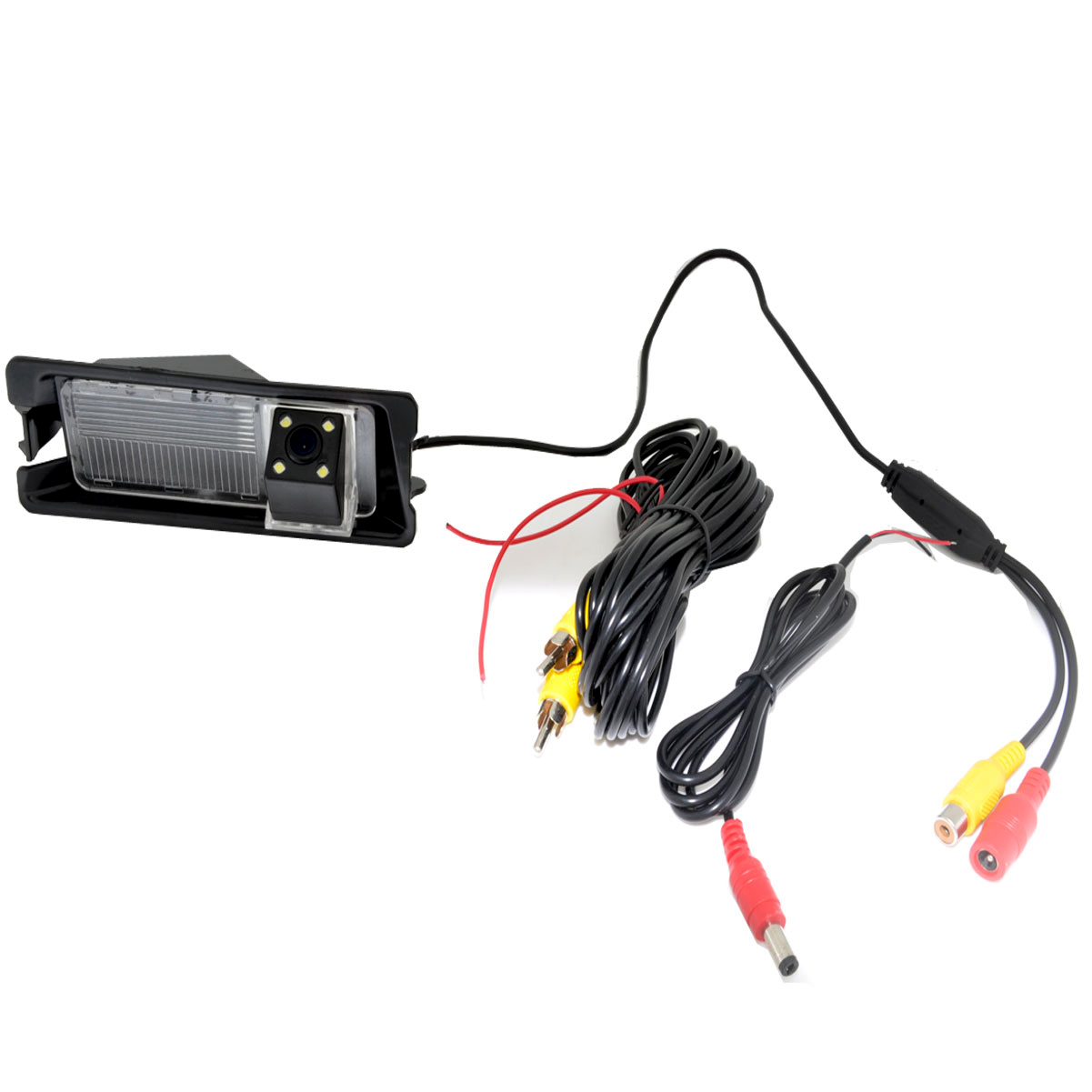 Image 5 - CCD HD Night vision 4 LEDS Special Car Rearview Rear View Reverse backup Camera For Nissan March Renault Logan Renault Sanderobackup camerareverse backup camerareverse backup -