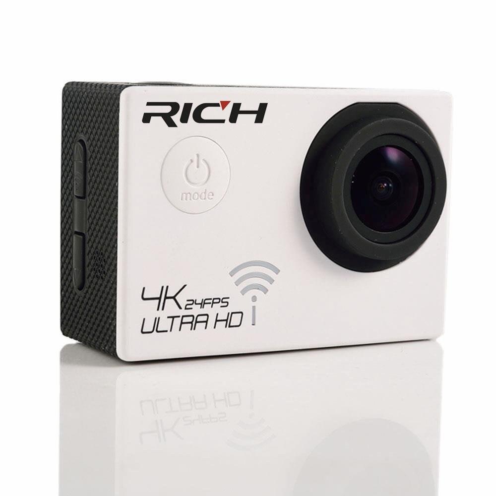 Offre spéciale SJ8000R NTK96660 True 4 K Sport caméra d'action WiFi 4 K 2 K étanche 2 pouces écran 170 degrés grand Angle