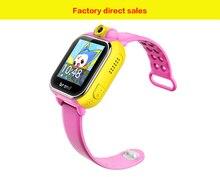 Smart Uhr Kinder 3G Kid Armbanduhr WIFI LBS GPS Locator Tracker Anti-verlorene Kamera Smartwatch SOS Für iOS Android PK Q50 Q60