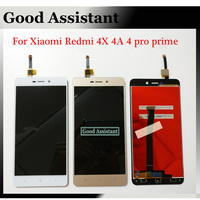 100 Tested High Quality Black White Gold For Xiaomi Redmi 4X 4A 4 Pro Prime LCD