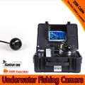 Dome Shape Underwater Fishing Camera Kit with 20Meters Depth Cable & 7Inch LCD Monitor with DVR Function & OSD Menu