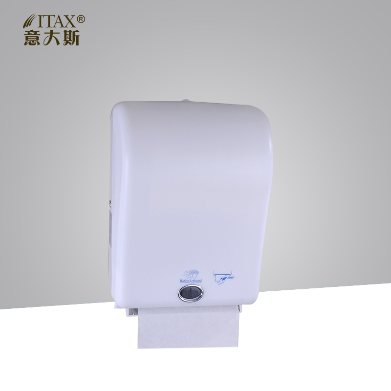 Novelty X-3322 Wall Mounted Sensor Paper Towel Dispenser Batteries or Electrical Automatic Tissue Holder Box in Multi Color цены