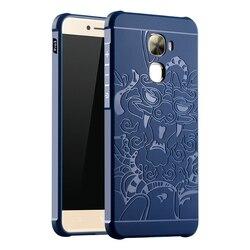 High Quality Anti-Knock Rubber Protective Case For Leeco Le Pro 3 X720 MAX 2 Le 2 Pro 1S Cool 1 Silicon Back cover Funda Capa