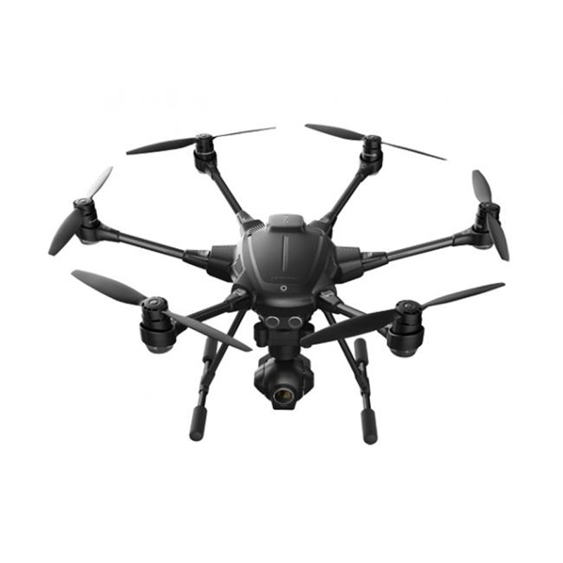 Yuneec Typhoon H480 RC Drone with Camera HD 4K RTF RC Helicopter Avoid obstacles 3Aixs 360 Gimbal vs DJI Phantom 3 4 QUADCOPTER (Black h480)