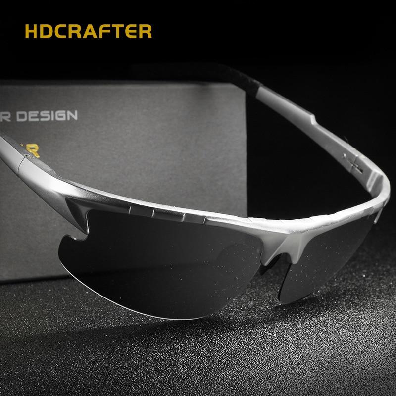 Aluminum Magnesium Sunglasses Polarized Sports Men Black Sunglasses Coating Driving Sun Glasses Sport Brand Eyewear Accessories