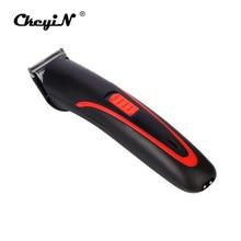 CkeyiN электрическая для стрижки волос перезаряжаемая Бритва для мужчин для стрижки волос для мужчин для бритья волос