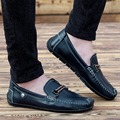 spring Summer Causal Shoes Men Loafers high quality Genuine Leather Moccasins Men Driving Shoes Flats For Man size 38-43