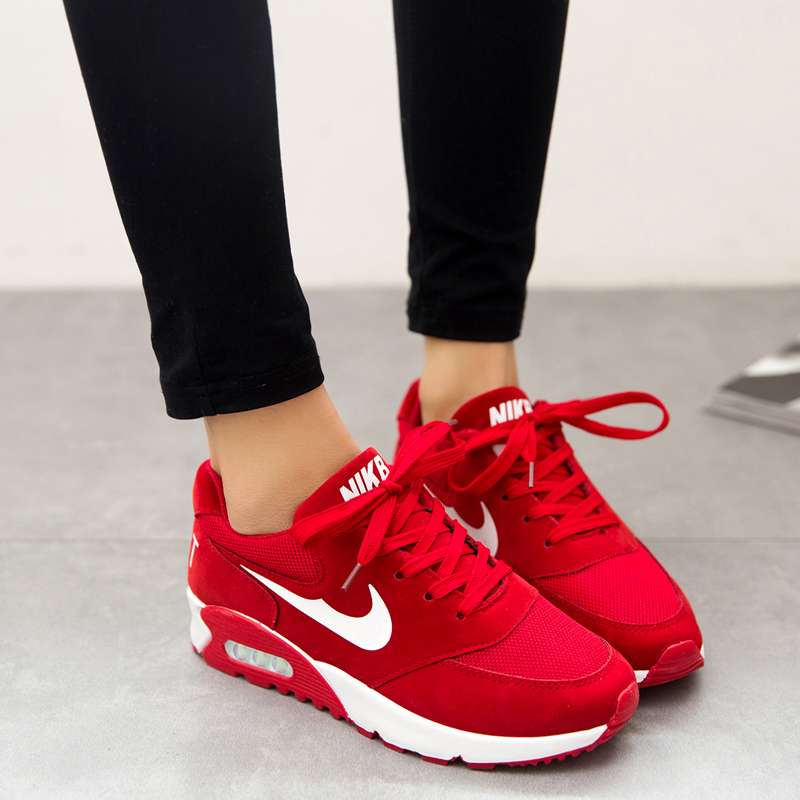 Ladies Red Shoes Size