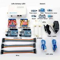 LoRa IOT Development Kit Lora Gateway Supports Multiple Sensors In WIFI RJ45 3G 4G Networking