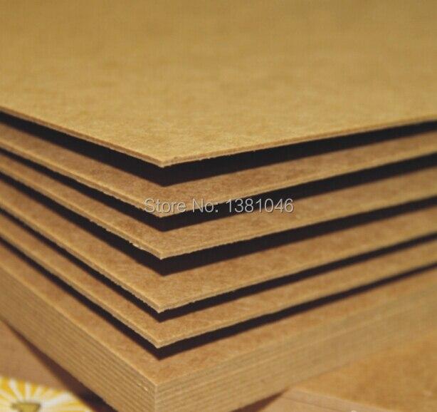 1 3 5 Blatt 1mm Blank Kraft Spanplatten Papier Karton A5 Karton