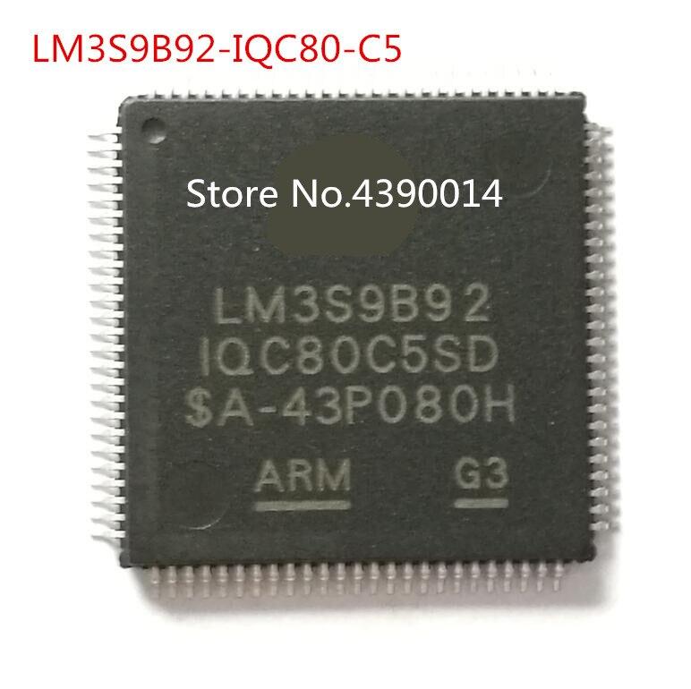 3pcs/lot LM3S9B92 LM3S9B92-IQC80 LM3S9B92-IQC80-C5 QFP100 free shipping 5pcs lot lm3s9b96 iqc80 c5 lqfp100 lm3s9b96 microcontroller new original