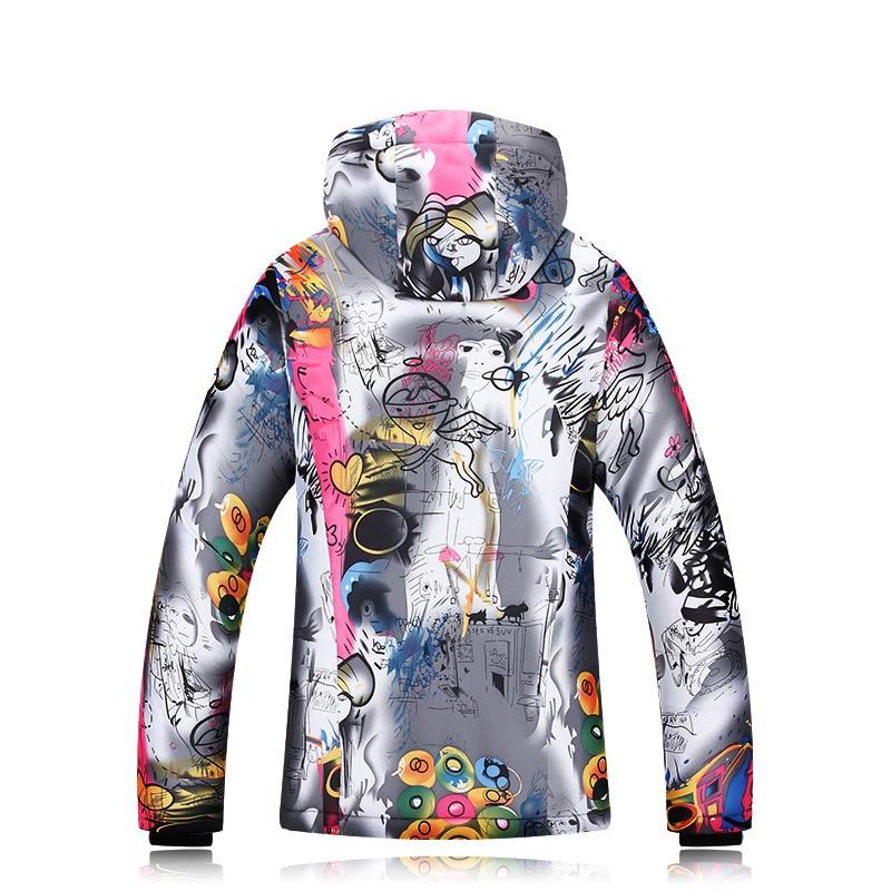 2018 Winter Ski Jackets Ladies Single Double Board Ski Clothing Windproof Waterproof Warm Thick Coat Ski Jacket Women (4)