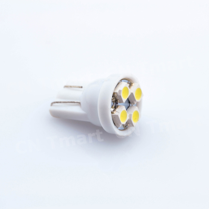 T10 W5W 4 Smd 1210 3528 DC12v 194 168  Car Wedge Led Lights 4LED Marker Lamps Auto Reading Dome Bulbs 4SMD dc 1210 каркам