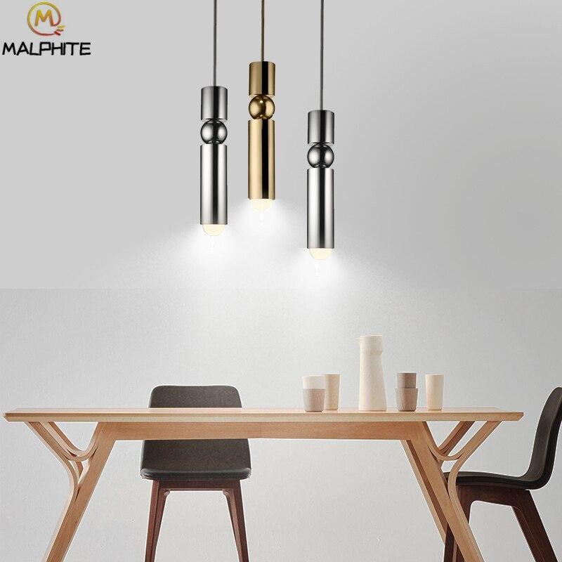 Lee Besen FULCRUM LED anhänger lichter Moderne restaurant Eisen anhänger lampen Nordic cafe Zylindrischen dekorative leuchten