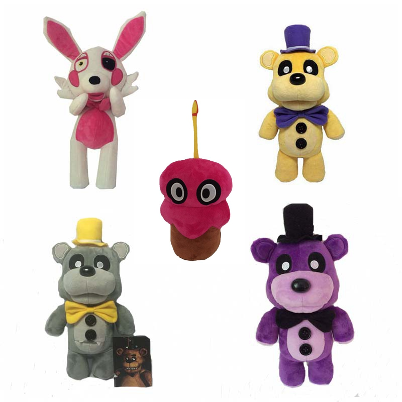 30cm Plush Fnaf Freddy Teddy Bear Toys font b Stuffed b font Five Nights At Freddy