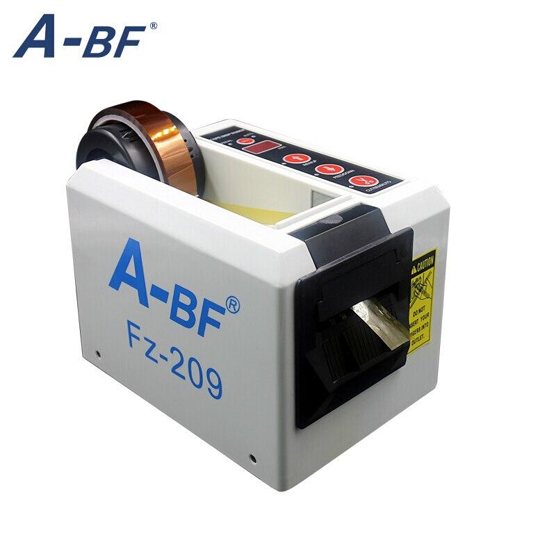 18 Вт автоматическая диспенсер для ленты Электрический Резак для клейкой ленты машина для резки 5 999 мм FZ 209 можно отрезать тонкий клей коротк...