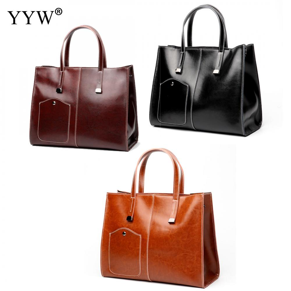 Luxe femmes sacs Designer dessus de couleur unie-poignée sac pour femme 2018 fourre-tout sac à main en cuir de dame célèbre marque sac à bandoulière