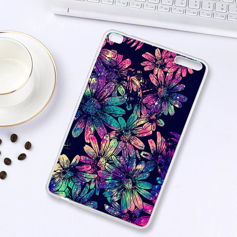 Soaptree Tablet For Huawei Mediapad T1 10 Honor Note 9.6 T1-A21W T1 10 T1-A21L T1-A23W/L 9.6 Inch Soft TPU DIY Tablets Case