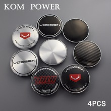 4pcs 68mm/clip 65mm black/carbon grain without logo blank sticker badge center caps for wheels vossen oz hre sign cover hubcaps