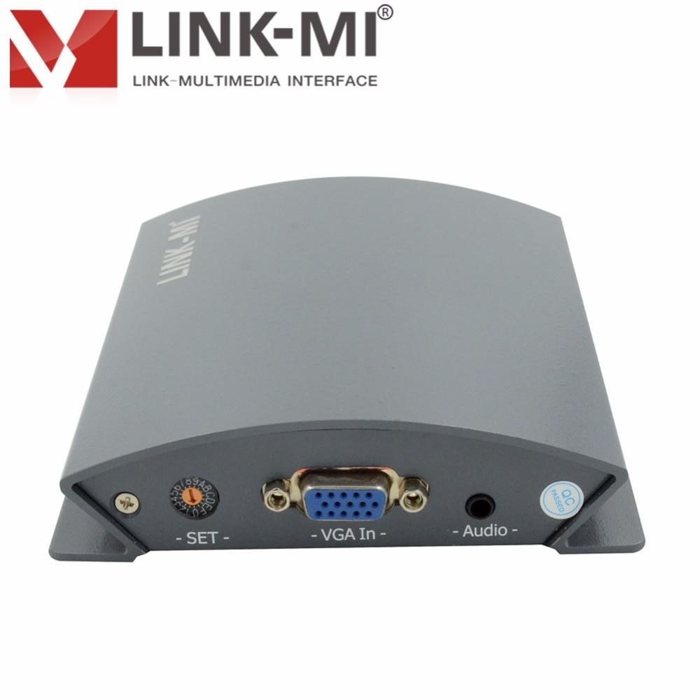 LINK-MI LM-PVS01 Broadcast Professional VGA v HD / 3G SDI video - Domači avdio in video - Fotografija 4