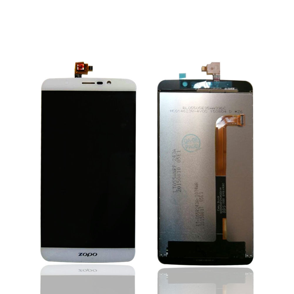 ФОТО For ZOPO Speed 7 Plus ZP952 LCD Display With Touch Screen Digitizer Assembly Original Replacement Parts Black / White