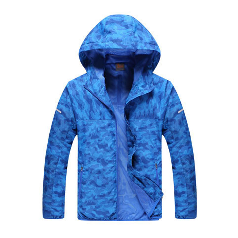 ФОТО 2016 Outdoor Sports Jacket Waterproof Windproof Wreathable Camouflage Jacket Hiking Mountaineer Running Jacket Windbreaker Men