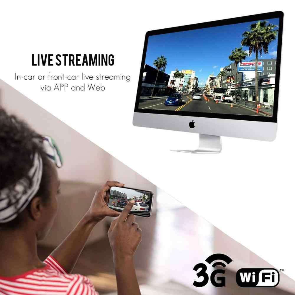 Jimi JC200 EdgeCam Pro 3G Car DVR Dash Camra Car Camera With HD 1080P Dual  Camera GPS Tracker Remote Monitoring Live Streaming