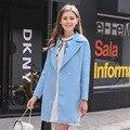 Philippine Journal Европа женщины 2017 новая коллекция весна цвет Лацкан пальто темперамент женщины пальто 96820