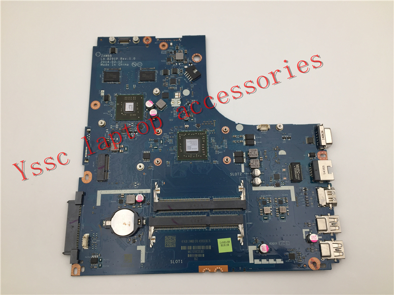 Free Shipping Brand New !!! ZAWBB LA B291P For Lenovo B50 45 Laptop motherboard For AMD A8 6410 CPU ( For AMD video card ) OK-in Motherboards from Computer & Office    1