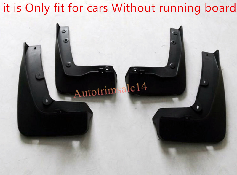 (fit cars without running board ) Front Rear Mud Flaps Guard Mudguard Splash Fender For BMW X1 F48 2016 2017 fit for jeep wrangler jk 2007 2015 mudflaps mud flap splash guard mudguards front rear fender accessories