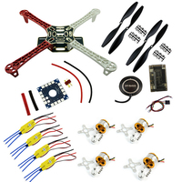 F450 Quadcopter Rack Kit Frame APM2 6 And 7M GPS 2212 1000KV HP 30A ESC 1045
