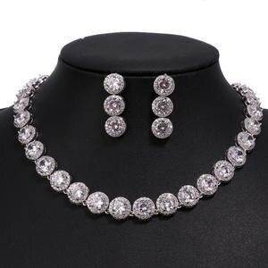 Bettyue Jewelry-Sets Zircon Gifts Gold Wedding White Hot-Sale Luxury Fashion Woman AAA