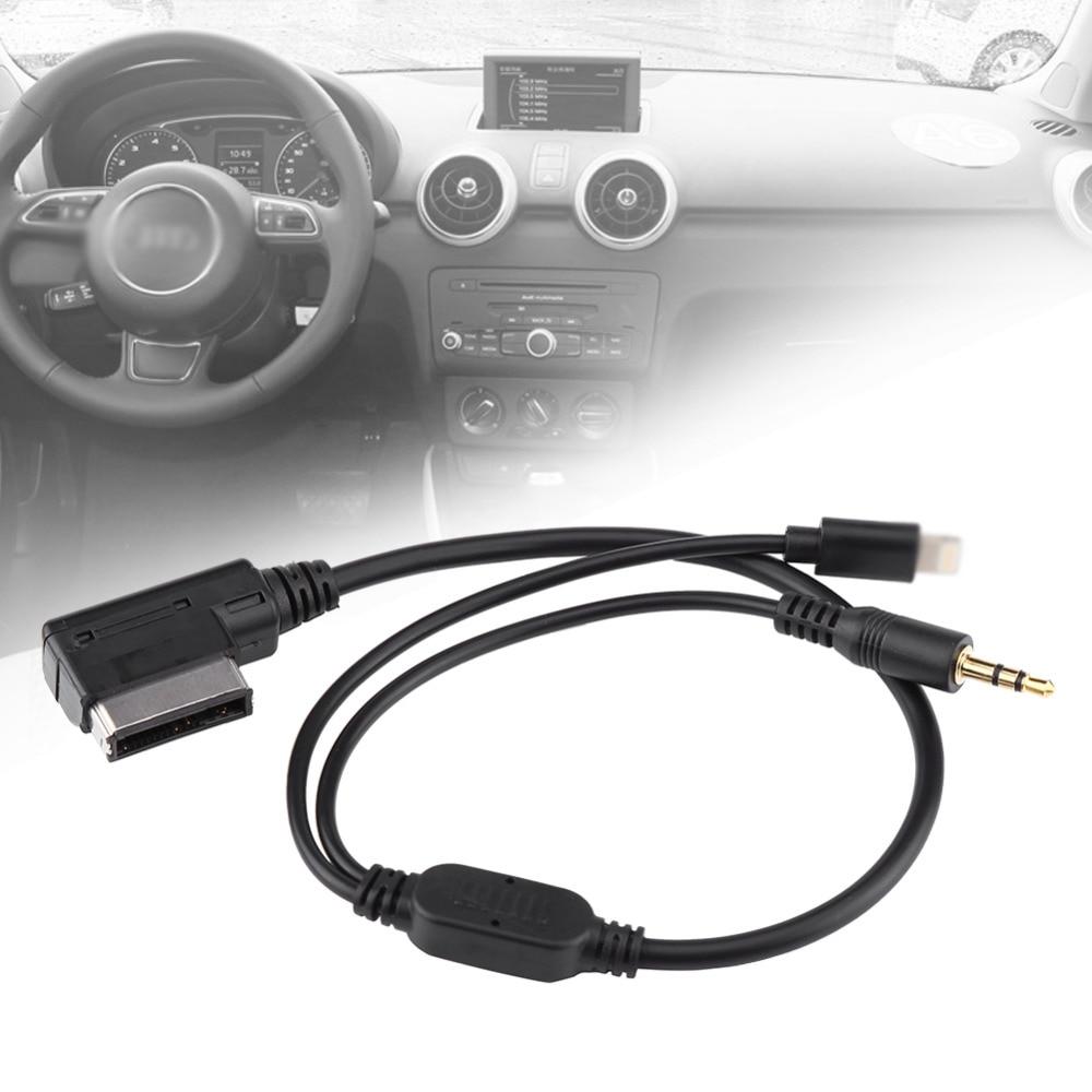 3.5 mm AMI MDI MMI Auto MP3 Hilfs Adapter Kabel Audio Kabel f/ür iPod iPhone 5 6