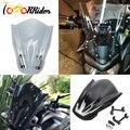 Для YAMAHA MT07 MT-07 FZ07 FZ-07 2013 2014 2015 2016 2017 мотоциклетные ветровое стекло ветровые дефлекторы устойчивые к царапинам