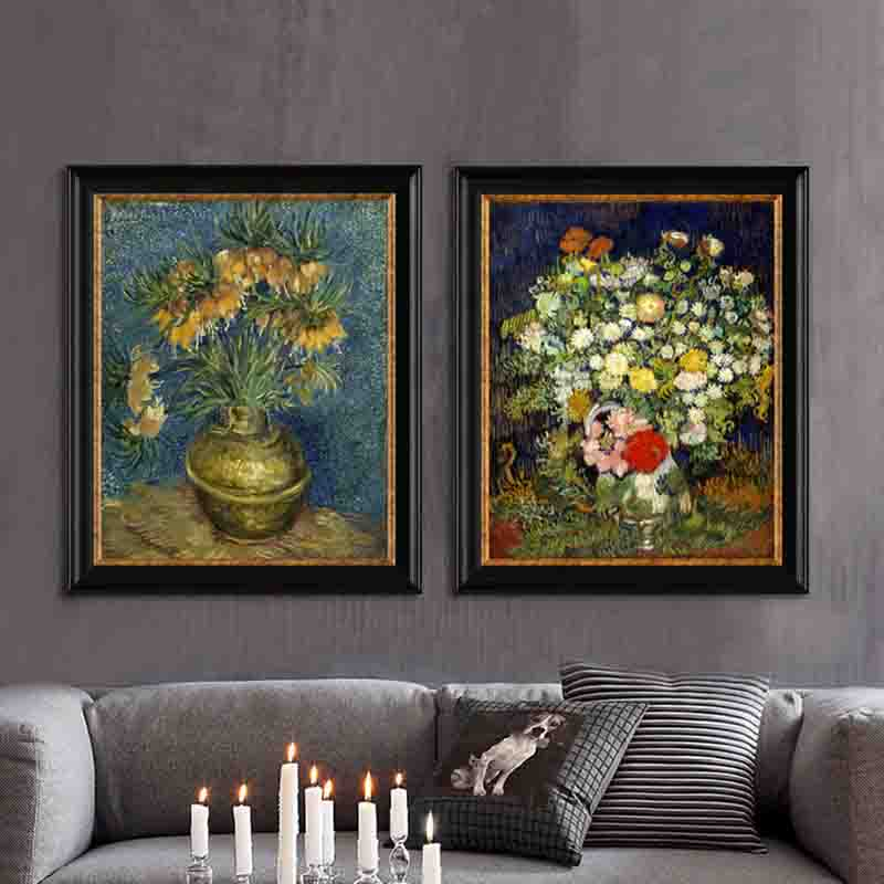 Best-selling New Series Kinds of Landscape Flowers and Endless Fields Desirable Art Picture Canvas Posters for Home Decoration