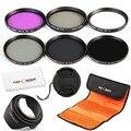 52 мм УФ FLD CPL ND2 ND4 ND8 Фильтр НЕЙТРАЛЬНОЙ ПЛОТНОСТИ Объектива Комплект для Nikon D7100 D7000 D5200 D5100 D5000 D3300 D3200 D3100 D3000 DSLR Камеры