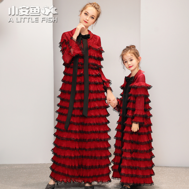 mother and daughter cupcake dress fashion mommy and me clothes mom and daughter wedding dress winter long sleeve family outfitsmother and daughter cupcake dress fashion mommy and me clothes mom and daughter wedding dress winter long sleeve family outfits