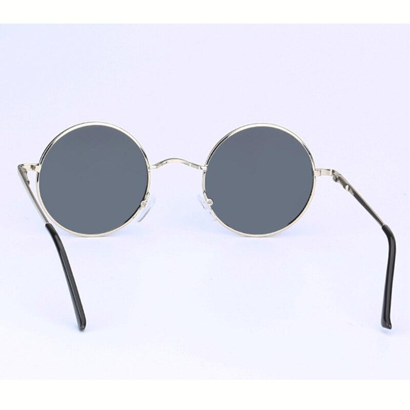 Image 4 - 2020 HD polarized Round Metal Sunglasses Steampunk Men Women Fashion Glasses Brand Designer Retro Vintage Sunglasses UV400round metal sunglassesmetal sunglassesbrand designer sunglasses -