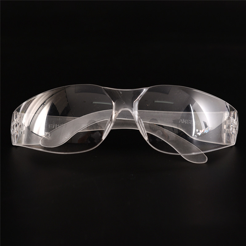 1pc Safety Glasses Lab Eye Protection Eyewear Clear Lens Safety Goggles Supplies