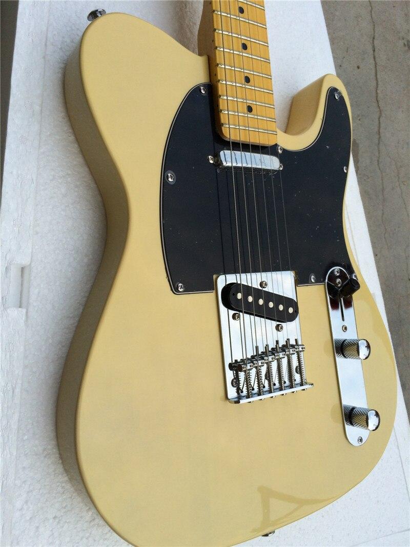 Électrique guitare + 2016 nouveau jaune couleur guitare électrique/guitare en chine