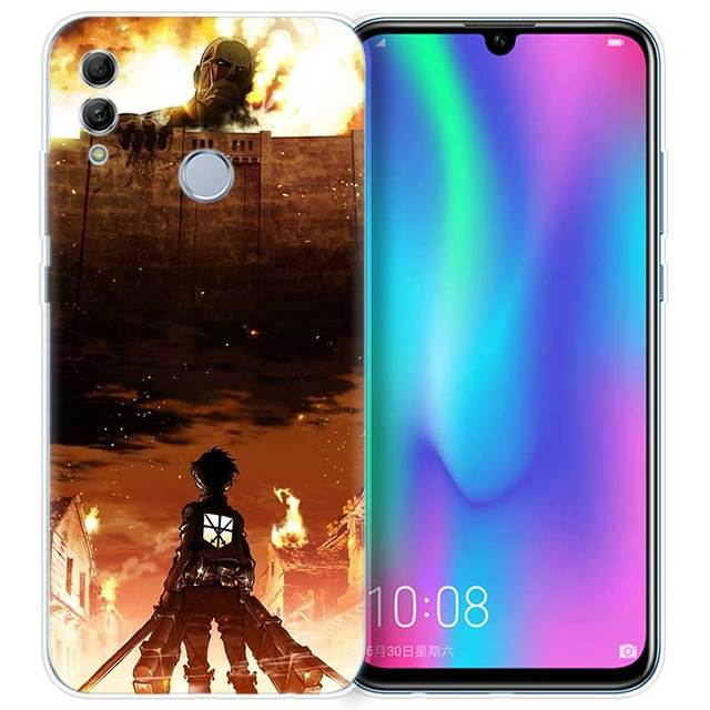 Attack on Titan Mikasa Case Cover for Huawei Honor Models