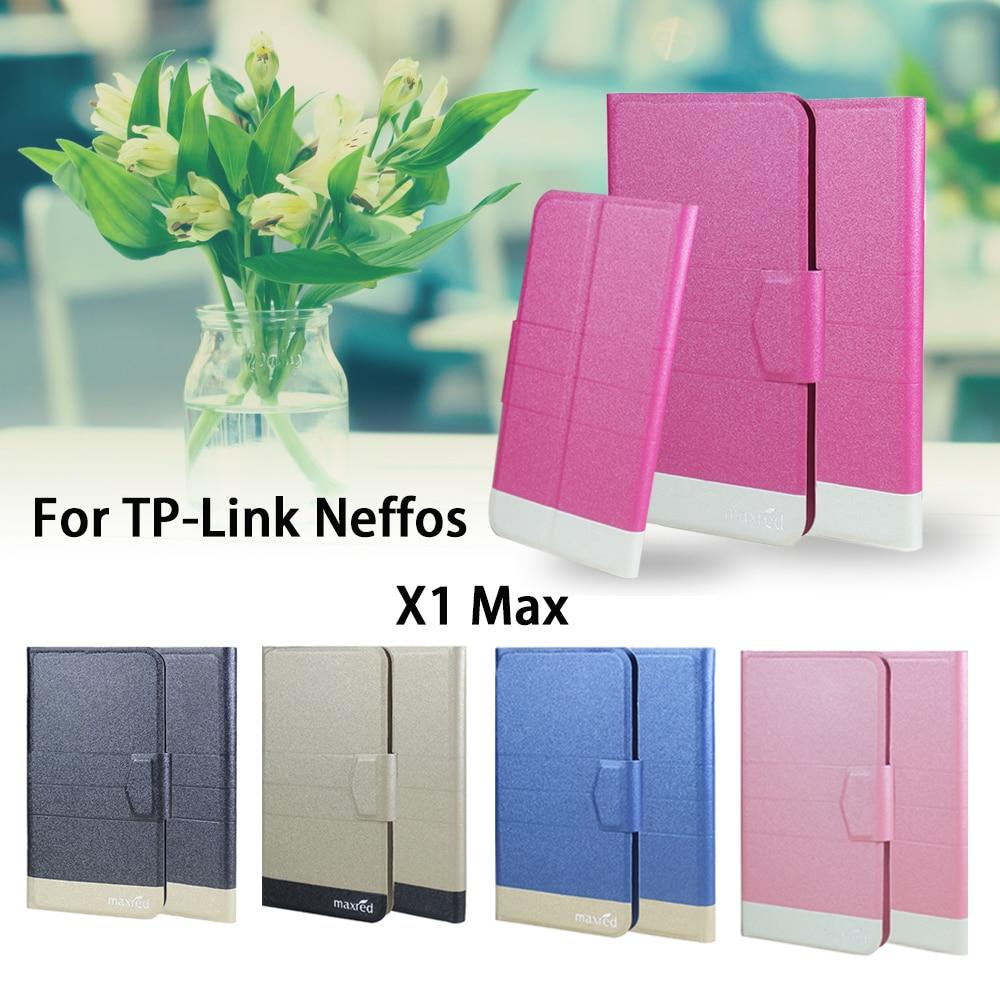5 Colores Super! TP-Link Neffos X1 Max Caja Del Teléfono Del Tirón Del Teléfono